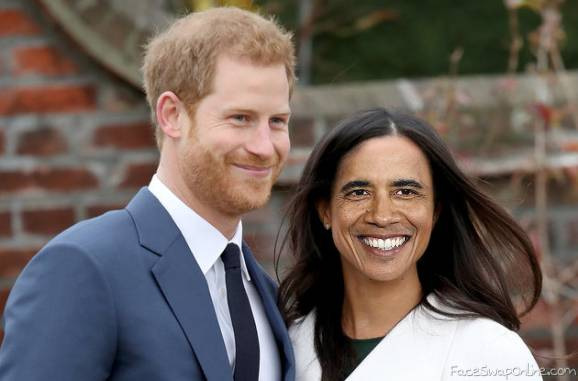 Harry and Meghan Obama