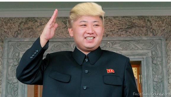 Kim mocks Trump