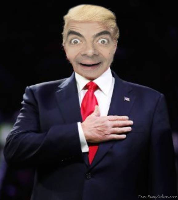 MR BEAN FOR PRESIDENT