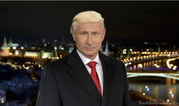 Putin in Trump hair
