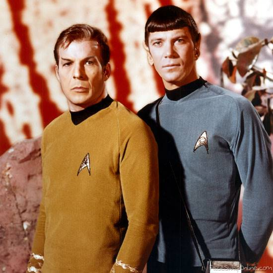 Trading roles - Kirk and Spock