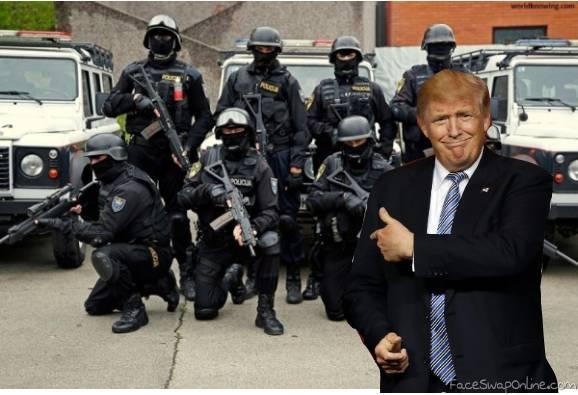 Trump solves school shooting problem
