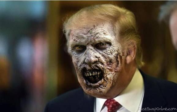 Trump without makeup