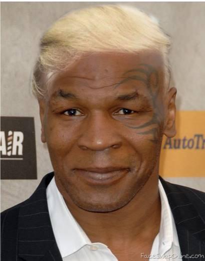 Tyson goes Trump