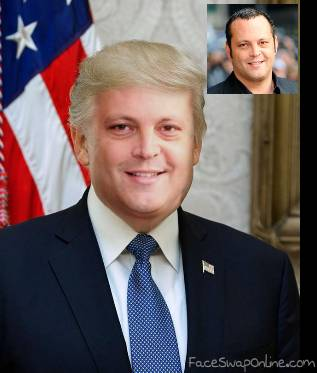 Vince Vaughn as Trump