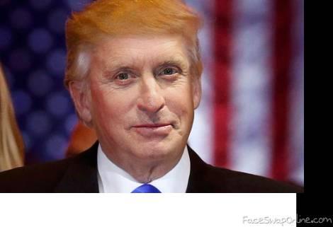Who will play Trump ? Michael Douglas