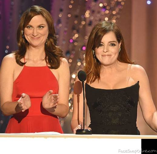 Amy Fey and Tina Poehler