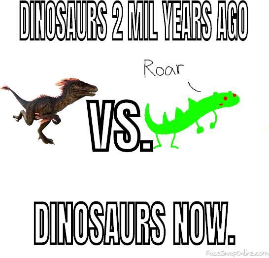 Dinosaur VS. dinosaur