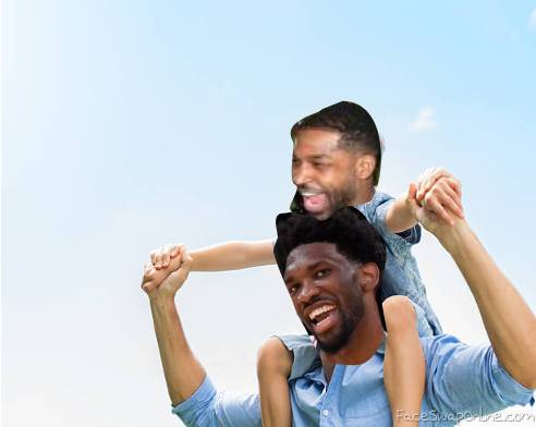 Embiid and Thompson
