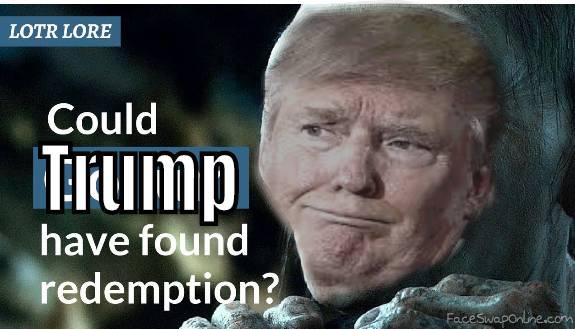 Gollum Trump