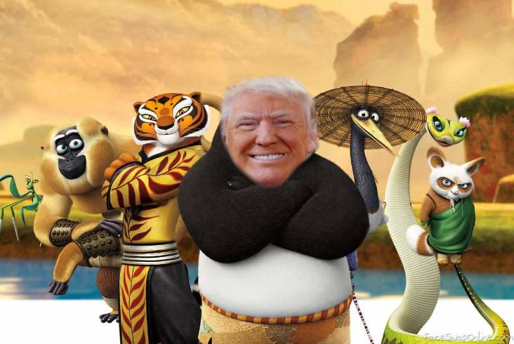 Kung Fu Trump