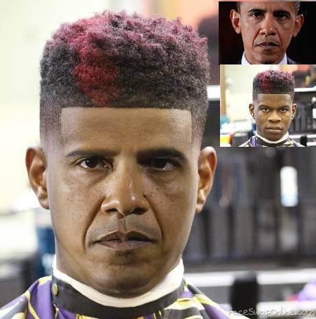Obama's new fade