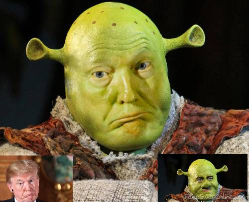 Ogre Trump