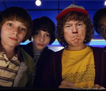Stranger Things - Trump