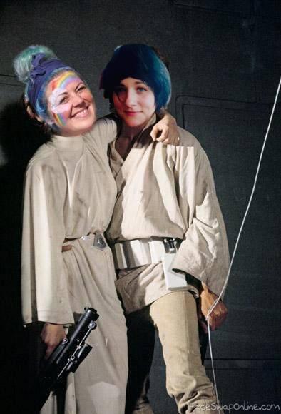 Susan Skywalker and Rach2D2