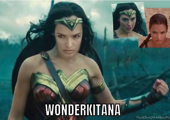 Talisa Soto as Wonderwoman