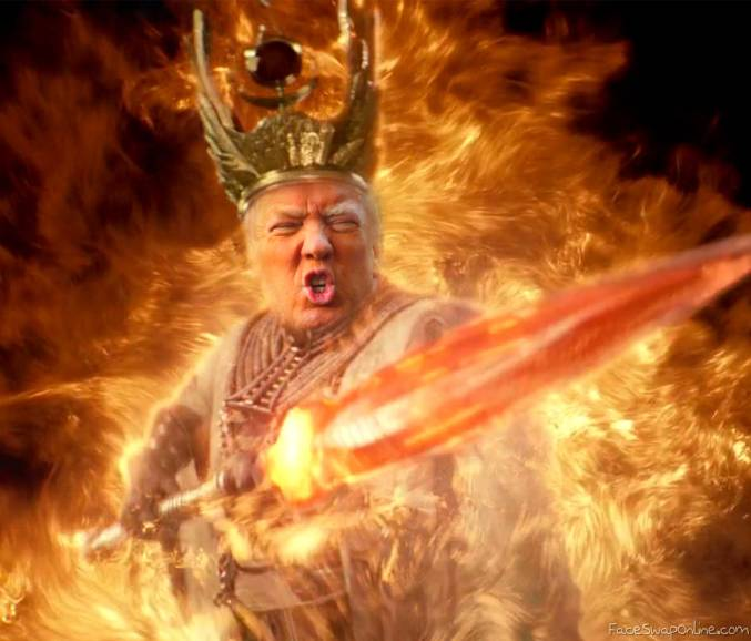 Trump God