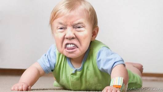 Trump baby challenge