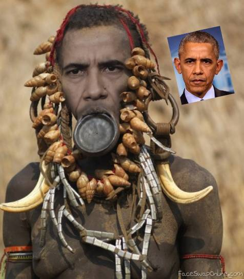 African Prince Obama
