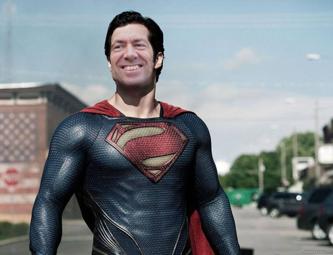 Dave Burt as Superman