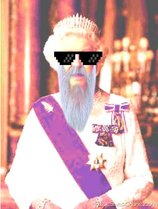 Queen Elizabeth is a Pro Ganny Papa