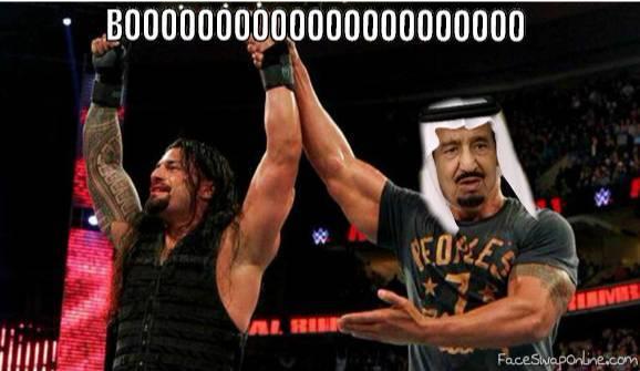 Roman saves Salman