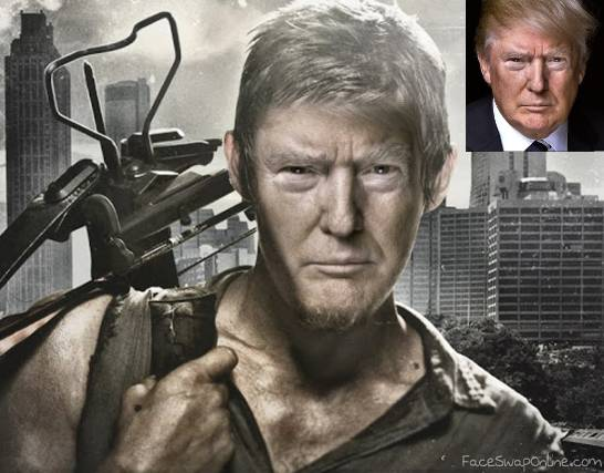 Trump the Zombie Hunter