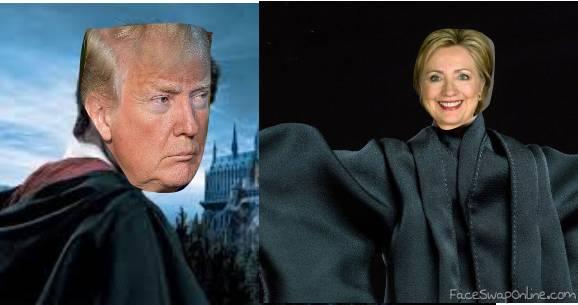 Trup Vs Hillary