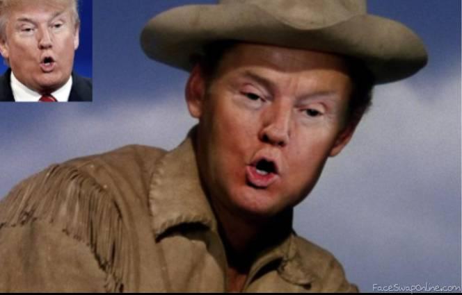 Cowboy Trump