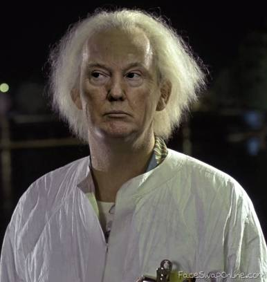 Doc Trump goes Back to the Future