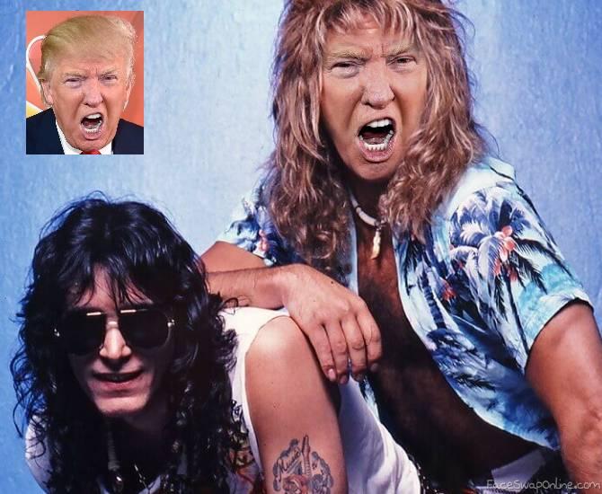 Hair Band Trump
