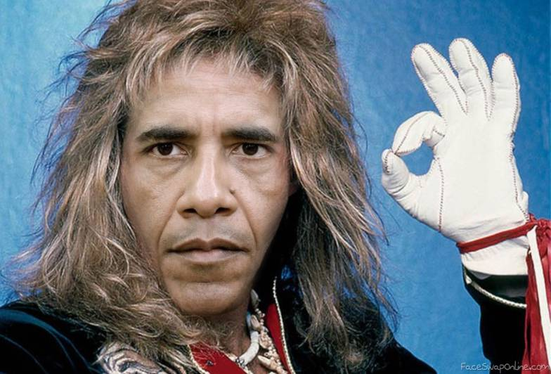 Just a Gigolo Obama