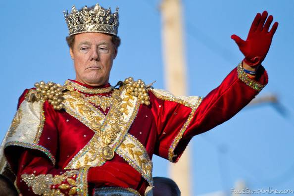 King Trump the 1st