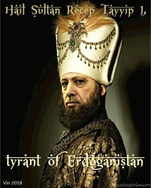 Sultan Erdogan (the recepe for tyranny)