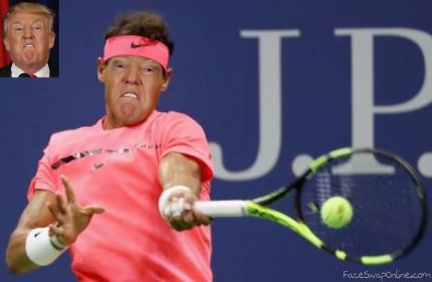 Trump tennis