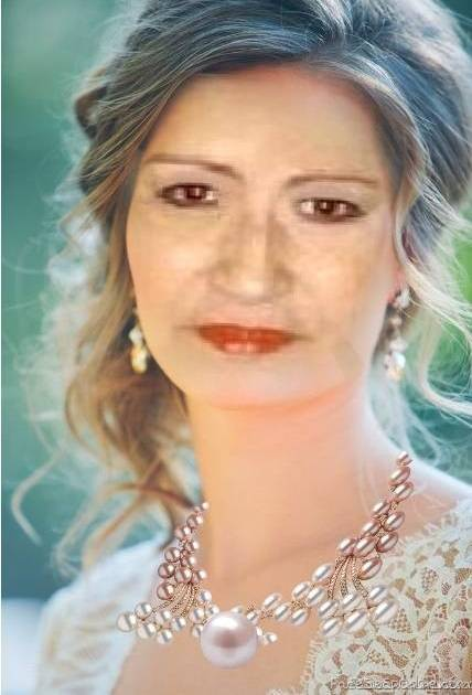 my creation using my face only