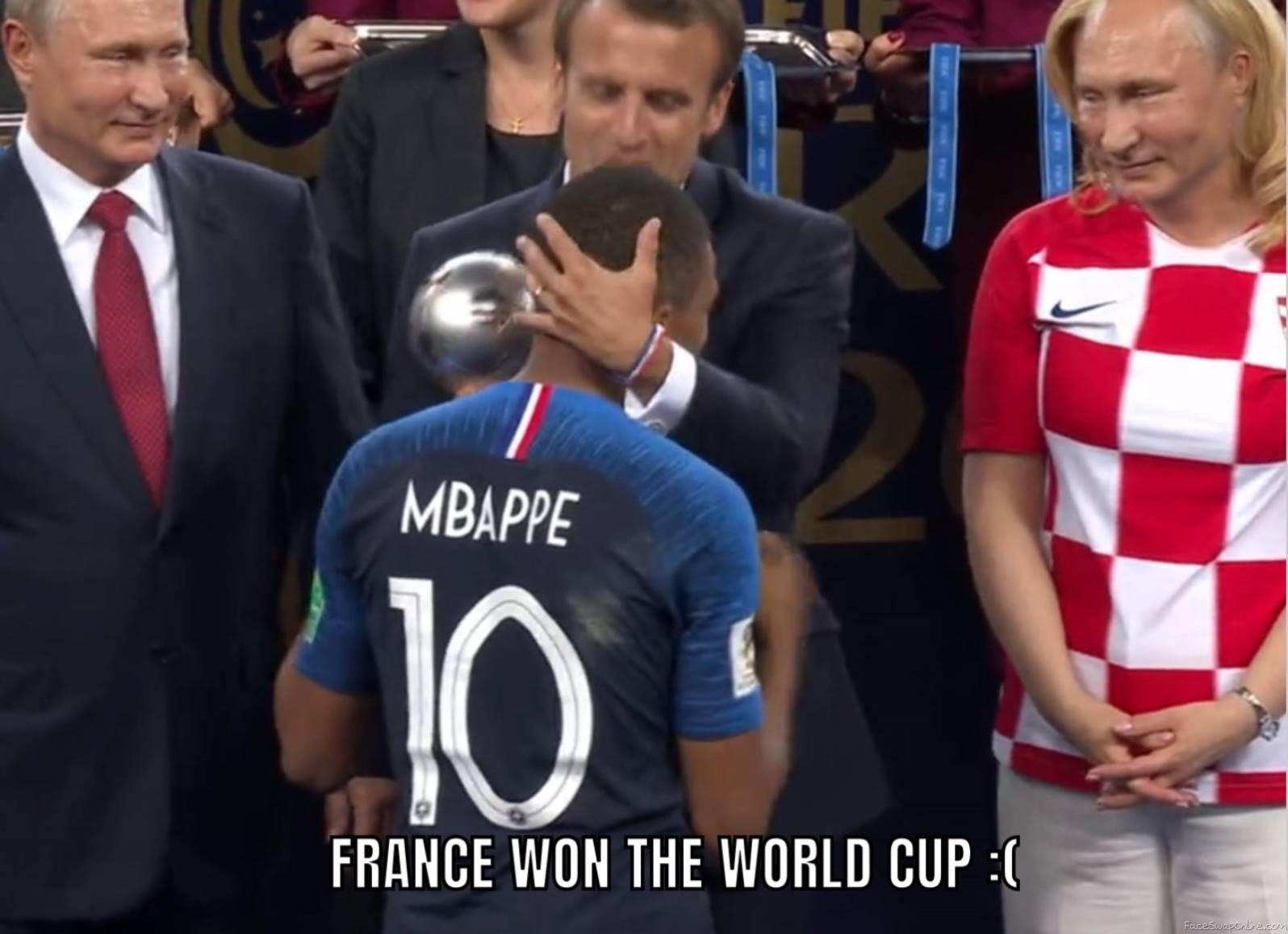 France won the world cup