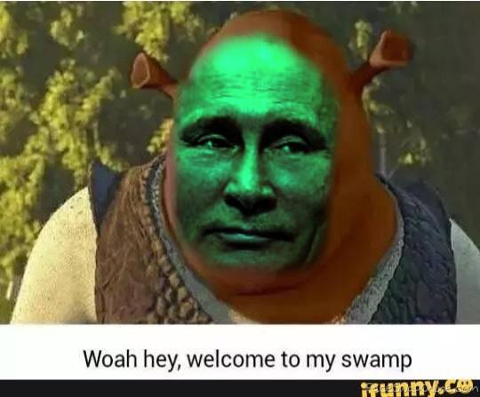 Shrek + Putin