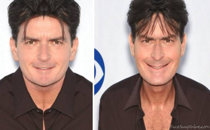 The 2 sides of Charlie Sheen