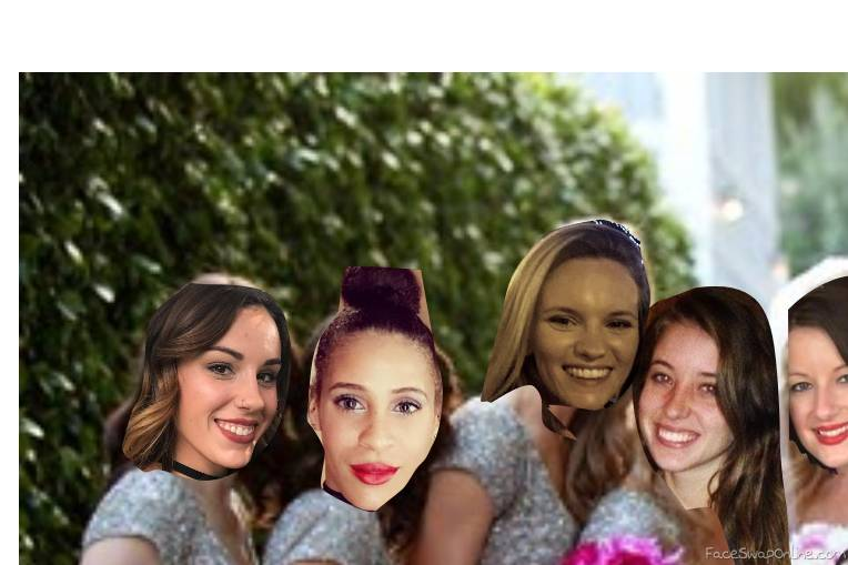 meghan's bridesmaids