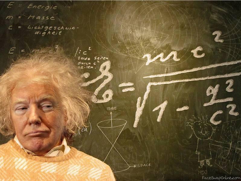 Einstein Trump