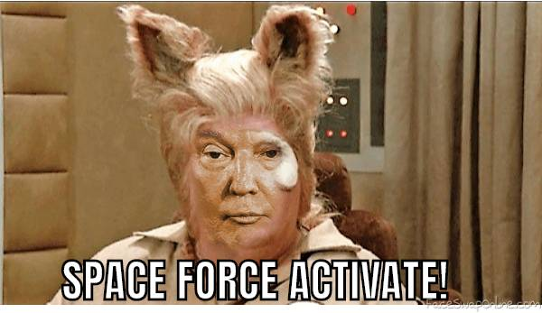 SPACEFORCE ACTIVATE!