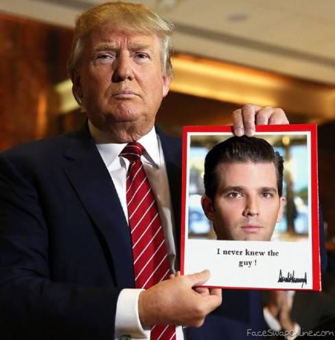 Trump answering Mueller