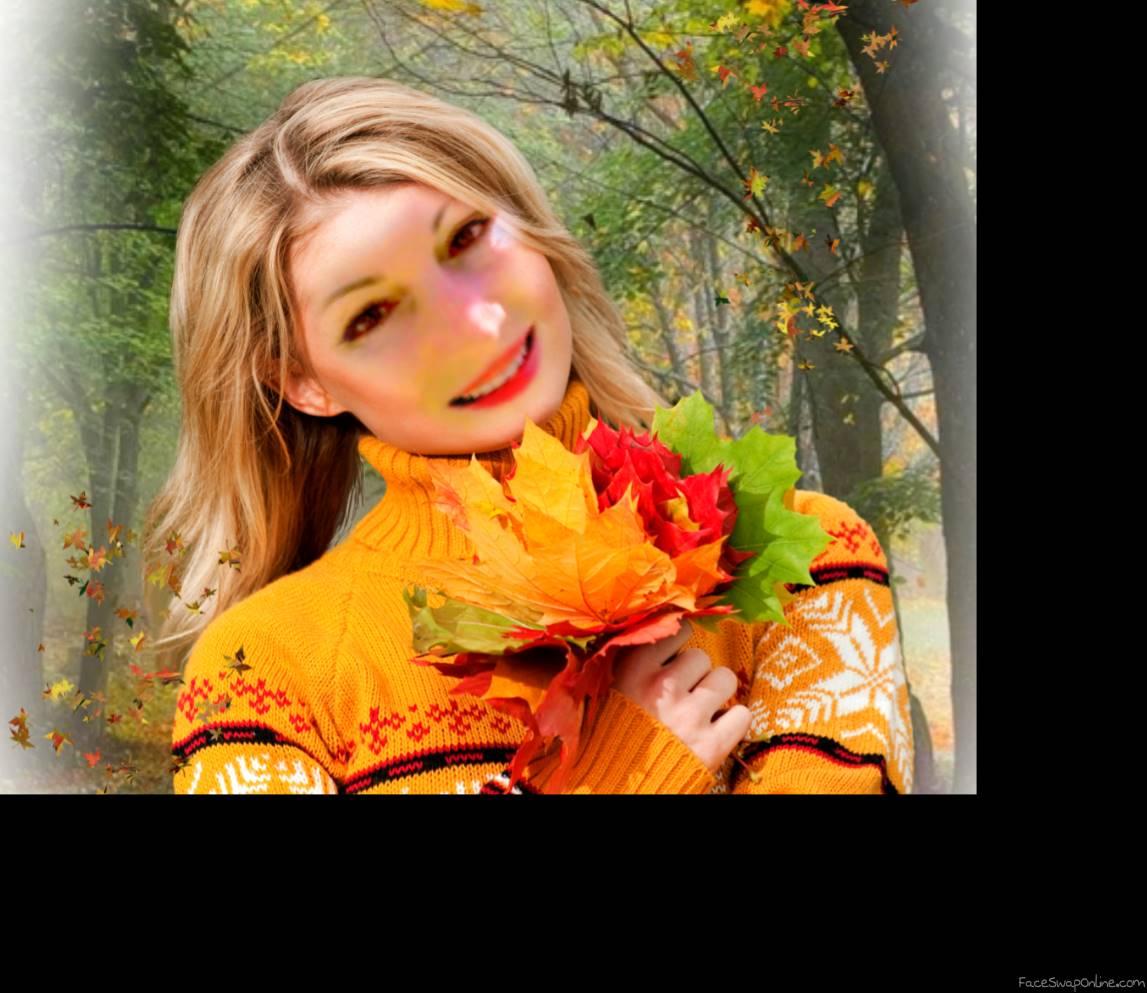 Apanhando folhas