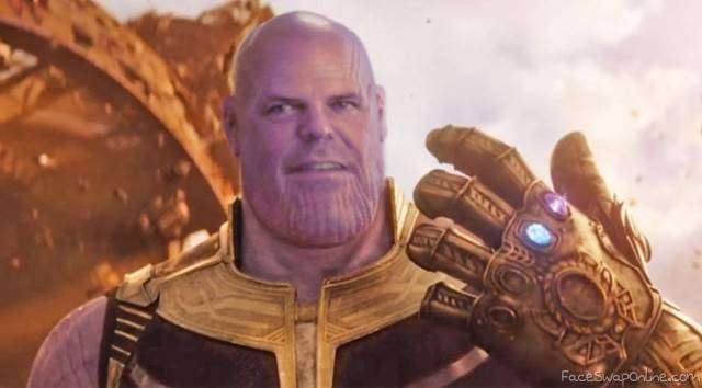 Mr. Crowther but he's Thanos