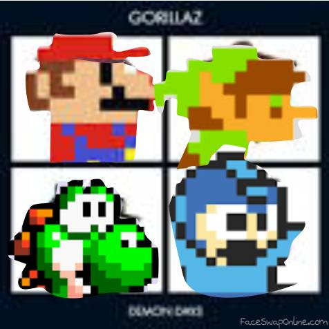 Retro Video Game Characters