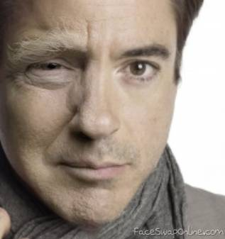 Robert Downey Jr.  Bad case of rotting Trump face