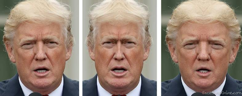The two faces of Trump