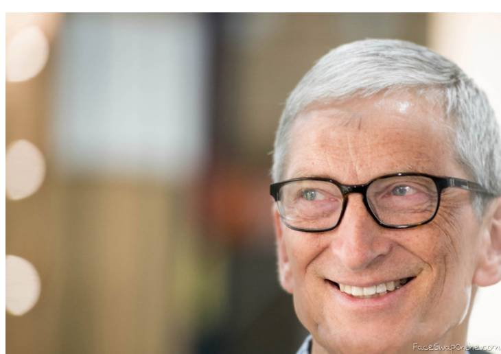 Tim Cook Bill gates