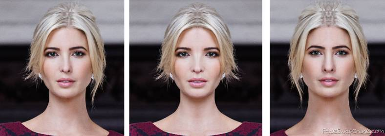 Two  faces of Ivanka